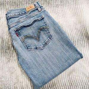Authentic Levi's Too Superlow 524 Jeans